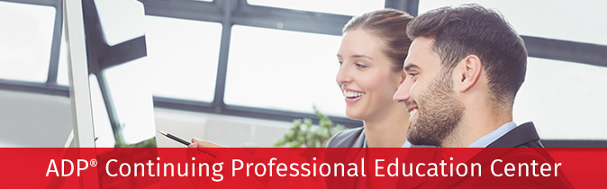 ADP® Continuing Professional Education Center